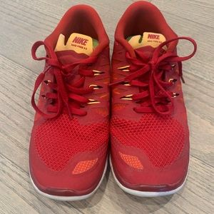 Nike Shoes - Red Nike Sneakers